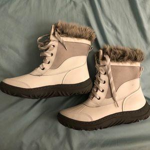Merona White Snow Boots